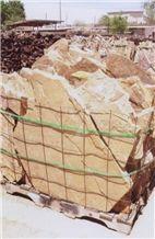 Sierra Madre Buff Stone Beige Sandstone Flagstone