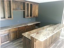 Typhoon Bordeaux Granite Eased Edge Kitchen Countertops, Work Tops