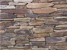 Arizona Brown Schist Wall Cladding, Masonry Walling