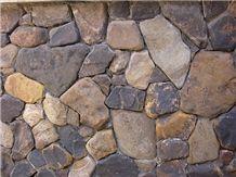 Arkansas Creek Stone Cobble Wall Veneer