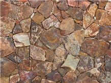 Baja Cresta Stone Rusty Red Split Thin Wall Veneer