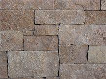 Ballinger Brown Natural Stone Sawn Cut Wall Brick