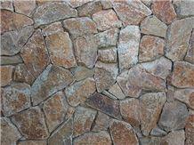 Bradshaw Schist Rubble Wall Cladding Veneer