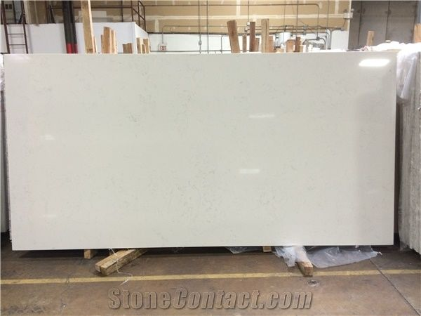 Aspen White Cosmos Quartz Stone Slabs From United States