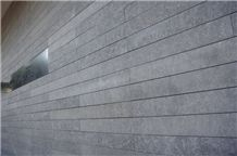 Romania Grey Andesite Wall Tiles, Pietroasa Grey Andesite