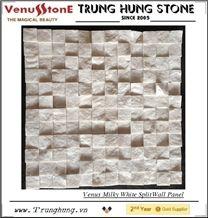 Vietnam Milky White Split Wall Panel