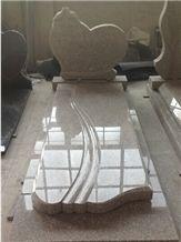 G635 Granite Tombstones, China Pink Granite Monuments