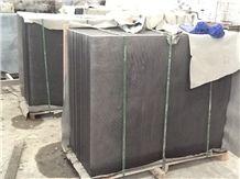 G684 China Fuding Black Basalt Tile Slabs Machine Cut Panel for Pool Floor Covering,Skirting Pattern,Garden Exterior Floor Paving Pattern