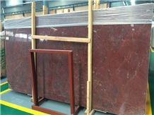 Rosso Ducale Marble Polished Slabs.Bordeaux Red Marble Machine Cutting Tiles Panel for Bathroom Surround,Floor Paving,Hotel Lobby Stepping