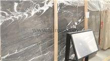Thunder Grey Marble Blocks, Turkey Grey Marble