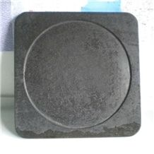 Lava Stone Pan for Barbecue Kitchen Accessories