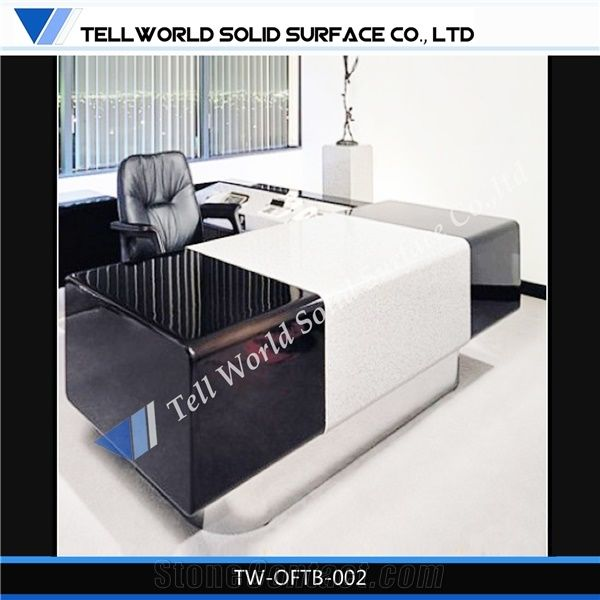 Long Solid Surface Office Furniture/Modern Meeting Desk ...