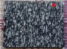 Zebra Black Granite ,Owl Z.Black Granite Slabs & Tile, Dark Grey Granite