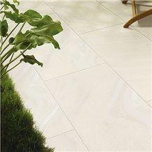 Sand Design White Full Body Antique Porcelain Floor Tile