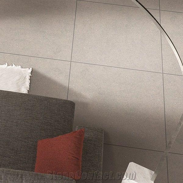 Toffee Slate Design Full Body Porcelain Floor Tile For Living Room