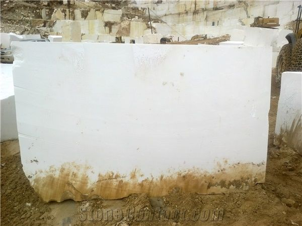 Thassos Snow White Marble Blocks, Greece White Marble - StoneContact com