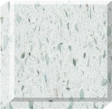 United States White Cristallo Quartz Stone
