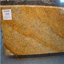 Savannah Gold Granite Slabs & Tiles, Namibia Yellow Granite