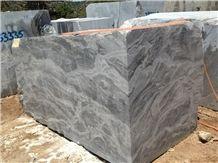 Silver Fantasy Marble Blocks, Grey Marble Turkey Blocks