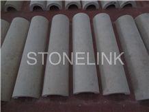 Slcl-008, Sandstone Column, Beige Sandstone Pillar, China Beige Sandstone Column