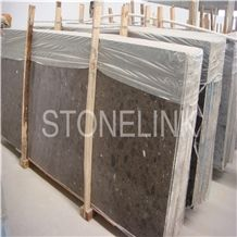 Slqu-001,Artificial Quartz Dark Emperador,Manmande Quartz Stone Slabs & Tiles,Brown Quartz Slab