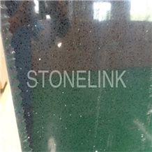 Slqu-006,Black Quartz Stone Slabs & Tiles,Artificial Quartz,Engineered Quartz