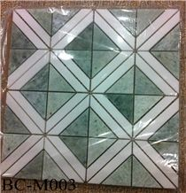 Polished Marble Wall/Floor Mosaic , Bc-M003