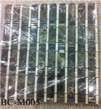 Polished Marble Wall/Floor Mosaic , Bc-M005