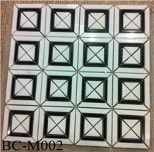 Polished Marble Wall/ Floor Mosaic Tiles, Bc-M002