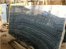 China Black Forest Marble, Antique Wood Marble, Black Wood Marble Slabs & Tiles, Black Wood Vein Marble