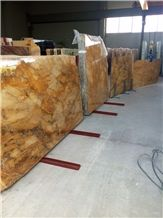 Broccatello Di Siena Marble Tiles & Slabs, Yellow Marble Tiles & Slabs Italy Polished
