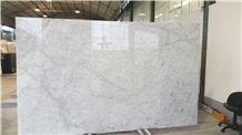 White Carrara Extra Marble Tiles & Slabs Italy, White Polished Marble Floor Tiles, Wall Tiles
