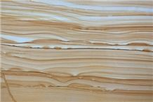 Teak Wood Marble Slabs & Tiles, Yellow Marble Floor Tiles, Wall Tiles