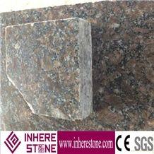 Royal Coffee Brown Pavers, China Brown Granite Cube Stone, Diamond Brown Granite