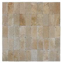 Small Tumbled Tiles, Mix Travertine