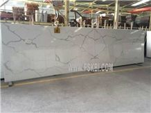 Affordable Brand Name Quality Calacatta Quartz Stone, Compete with Caesarstone, Smartstone
