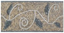 Turkey Marble Art Border Mosaic Molding & Border Lines for Interior Stone