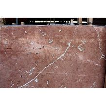 Hubei Rojo Alicante Red Marble Polished Slabs, China Red Marble