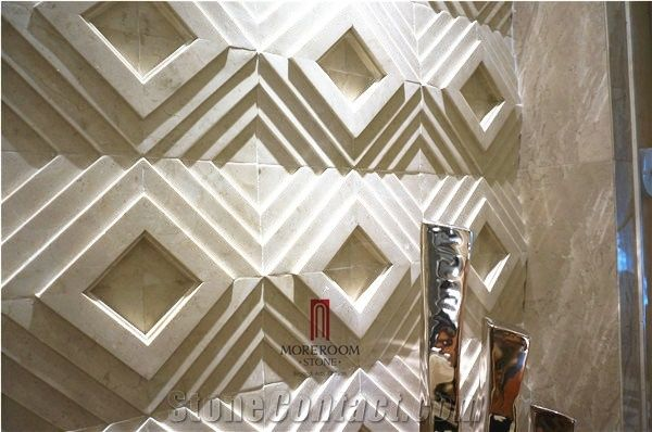 Italy Beige Marble Home Decor,Italian Decorative Natural