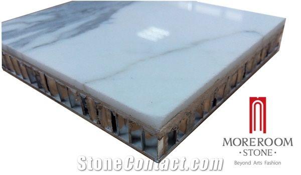 Moreroom Stone Italy Calacatta White Marble Slab With