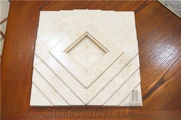 Spain Pinoso Crema Marfil Marble Home Decor Products Decorative