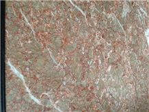 China Cream Rose Marble, Red Marble, Polished Marble Stone Tiles Slabs,Rosa Creama Marble,Hubei Cream Rose