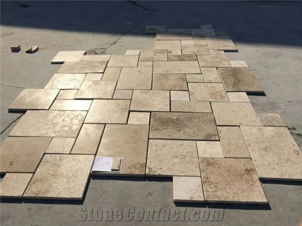 Chinese Beige Travertine Tile Antique Price