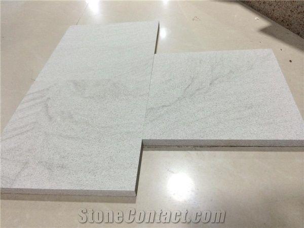 Chinese White Sandstone Tiles Slabs