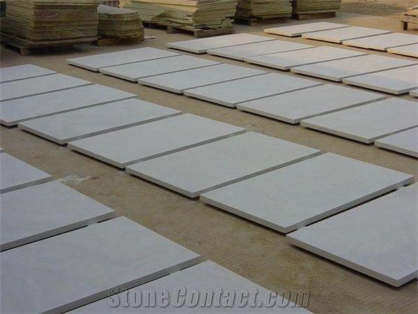 Natural White Sandstone Type Honed