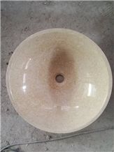 New Cream Marfil Marble Sinks & Basins
