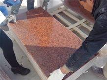 Xinjiang Red Granite Tiles, Xinjiang Red Granite Polished Tiles to Uzbekistan/Kz/Kyrghyzstan