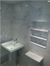 Blanco Bego Marble Bathroom Design