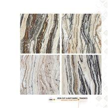 Traonyx, Brown Travertine Tiles & Slabs