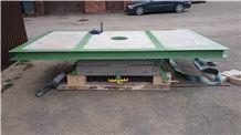 Rotating Table for Bridge Saw